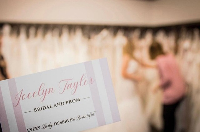 Jocelyn Taylor Bridal and Prom business card